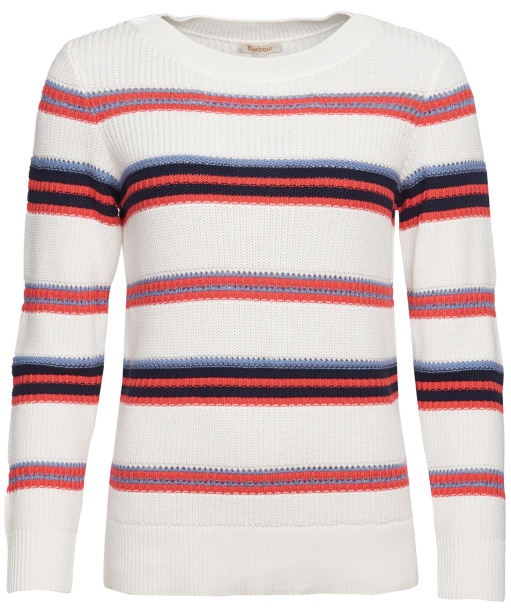 Women's Barbour Promenade Knit Sweater - Off White