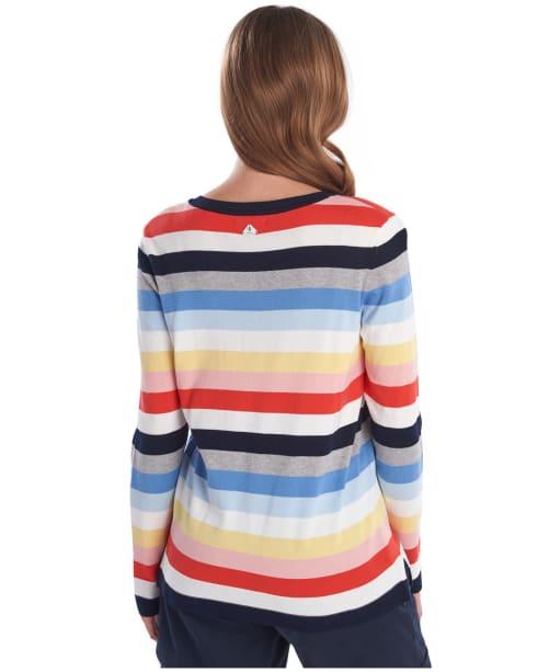 Women's Barbour Seaview Knit Sweater - Multi Stripe