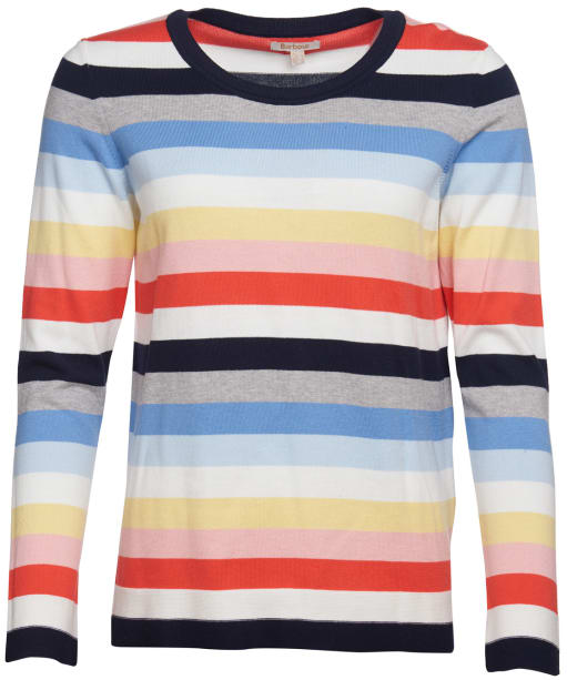 Women's Barbour Seaview Knit Sweater - Multi Stripe