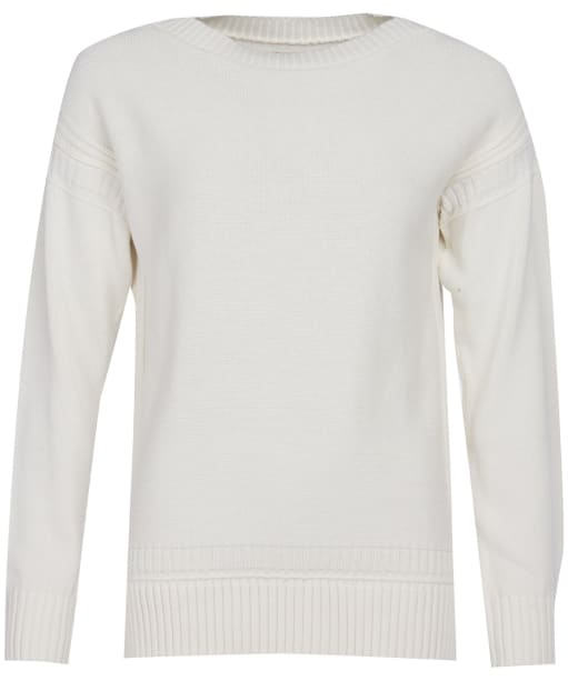 Women's Barbour Sailboat Knit Sweater - Off White