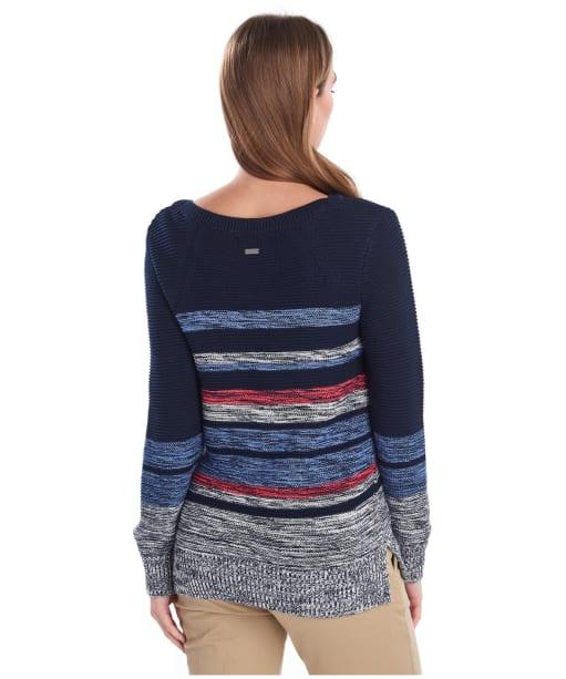 Women's Barbour Littlehampton Knit Sweater - Navy