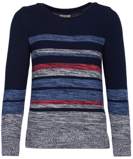 Women's Barbour Littlehampton Knit Sweater - Navy