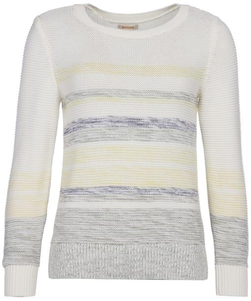 Women's Barbour Littlehampton Knit Sweater - Off White