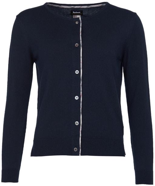 Women's Barbour Bredon Knit Sweater - Navy