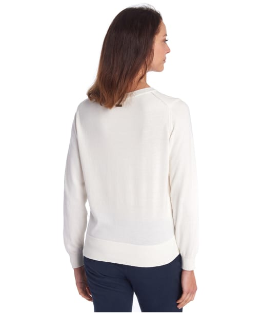 Women's Barbour Crawford Knit - Off White