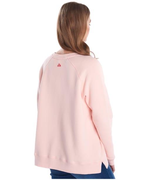 Women's Barbour Promenade Sweatshirt - PALE CORAL