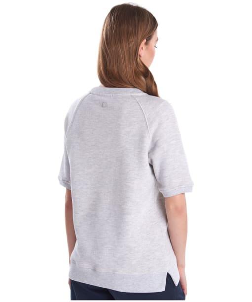 Women's Barbour Harbourside Sweatshirt - Pale Grey Marl
