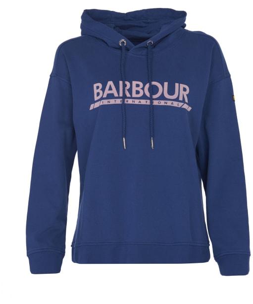 Women's Barbour International Apex Overlayer - Jewel Blue