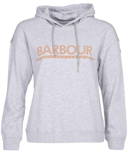 Women's Barbour International Apex Overlayer - Pale Grey Marl