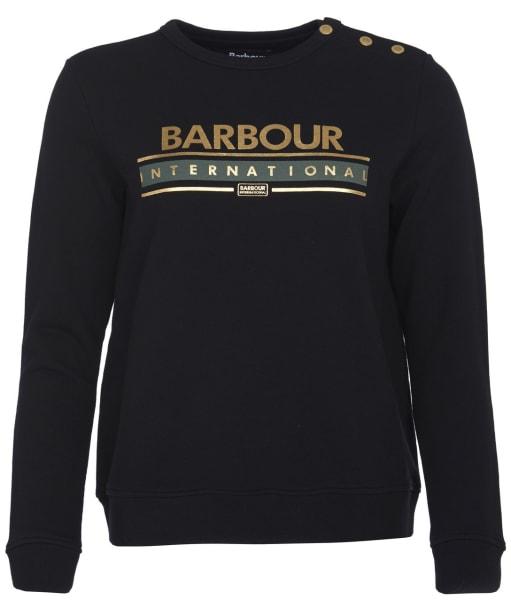 Women's Barbour International Rally Overlayer - Black