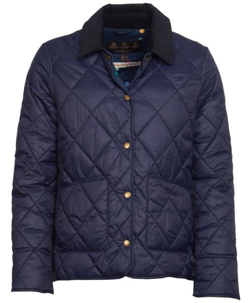 Women's Barbour x Emma Bridgewater Coldstream Quilted Jacket - Navy