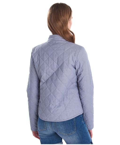Women's Barbour Harbourside Quilted Jacket - Chambray