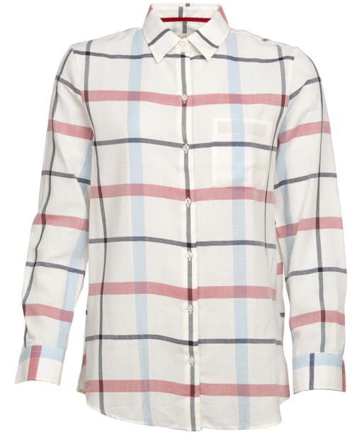 Women's Barbour Oxer Check Shirt - Tayberry Check