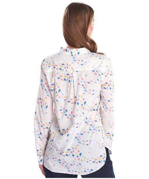 Women's Barbour Waterside Shirt - Off White Print