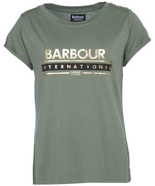 Women's Barbour International Apex Tee - Tussock
