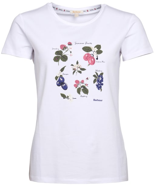 Women's Barbour Everly Tee - White