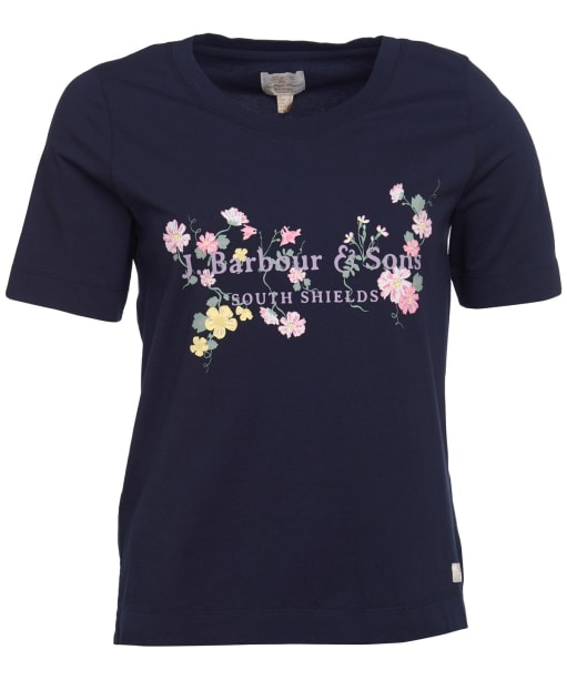 Women's Barbour Sofia Tee - Navy