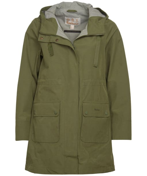 Women's Barbour Ava Waterproof Jacket - Bayleaf