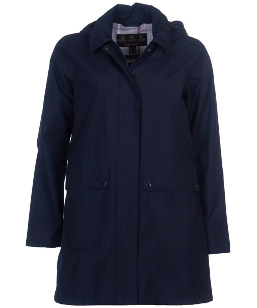 Women's Barbour Outflow Waterproof Jacket - Navy