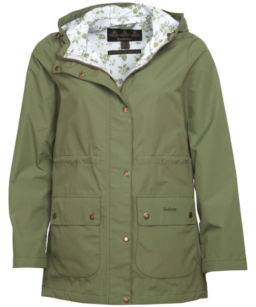 Women's Barbour Foxlands Waterproof Jacket - Laurel Ladybird