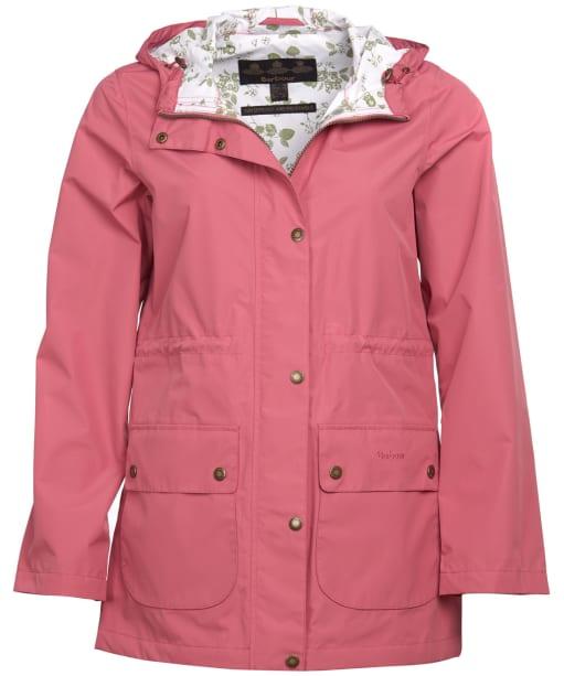 Women's Barbour Foxlands Waterproof Jacket - Tayberry Ladybird