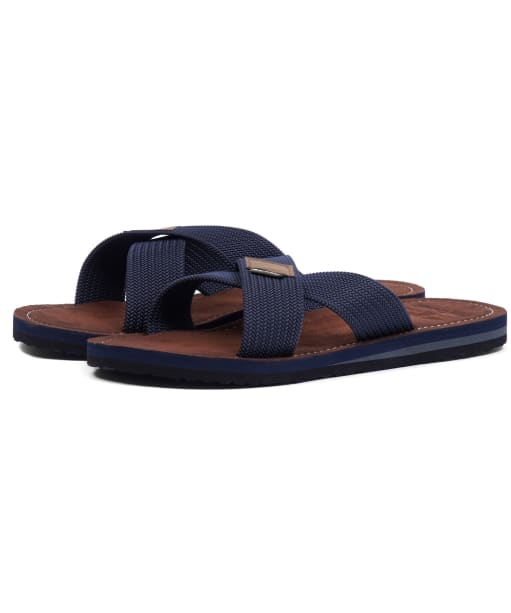 Men's Barbour Ash Beach Sandals - Navy