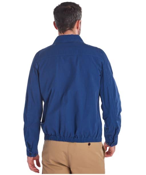 Men's Barbour Essential Casual Jacket - North Sea Blue