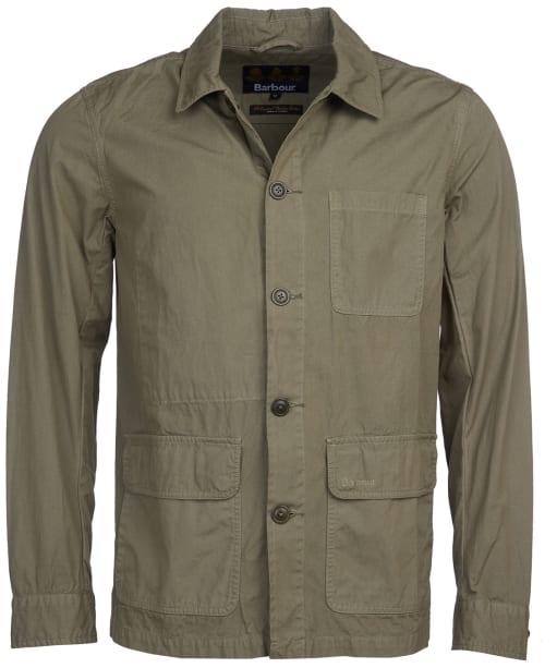 Men's Barbour Quenton Casual Jacket - Light Moss