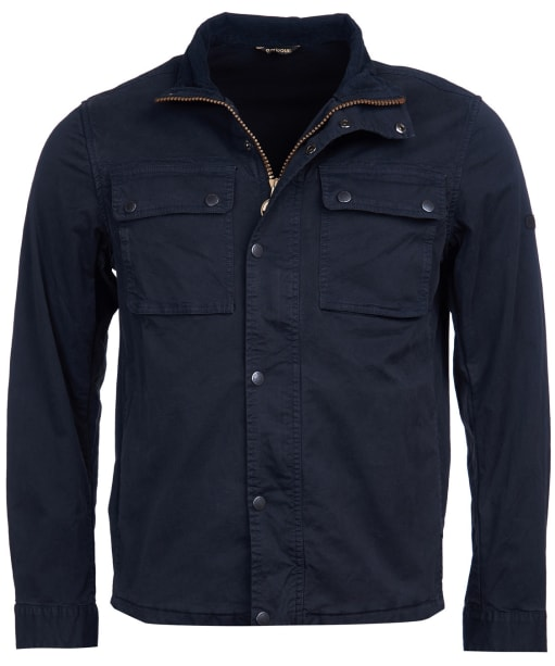 Men's Barbour International Gresham Casual Jacket - Black