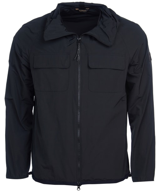 Men's Barbour International Boldon Hooded Casual Jacket - Black