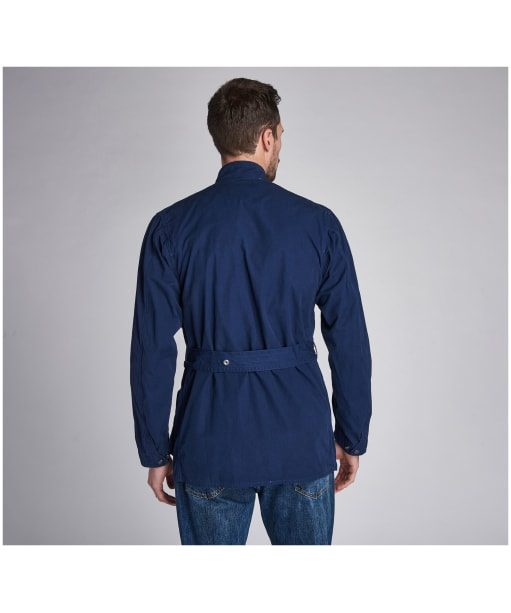 Men's Barbour International Summer Wash A7 Casual Jacket - French Navy