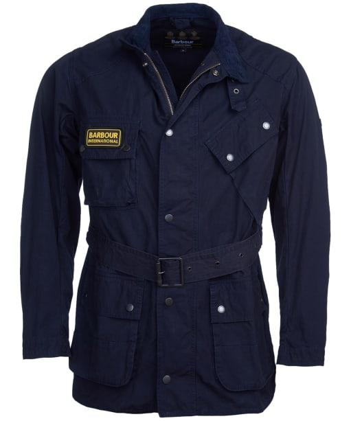Men's Barbour International Summer Wash A7 Casual Jacket - Dark Indigo