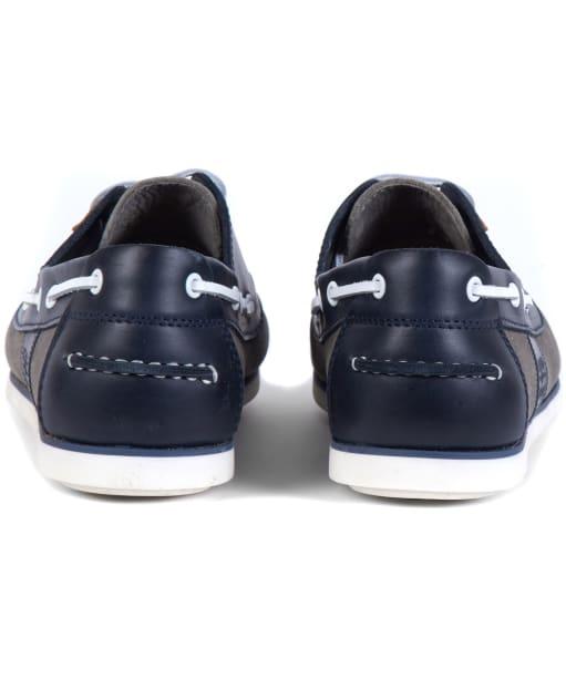Men's Barbour Capstan Boat Shoes - Grey / Navy