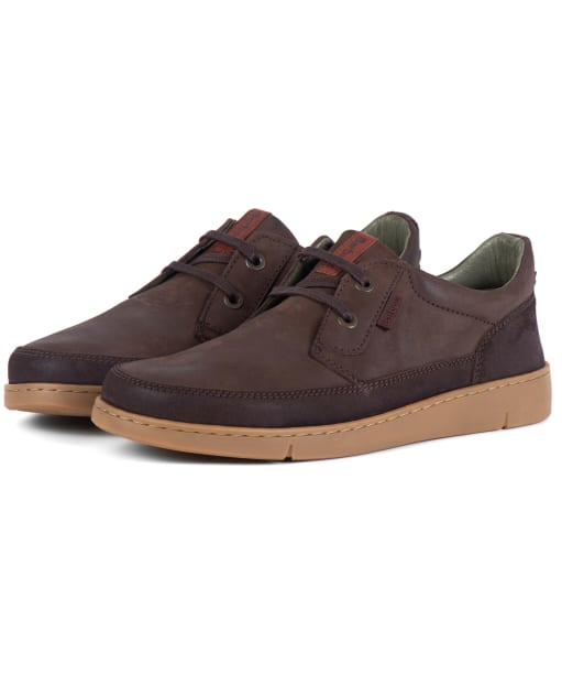Men's Barbour Glider Shoes - Brown Nubuck