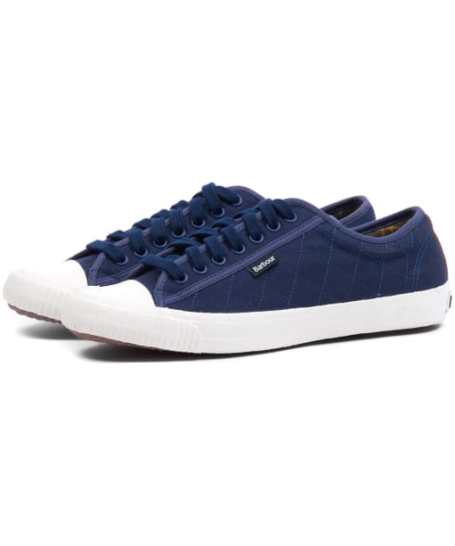 Men's Barbour Centurion Sneakers - Navy