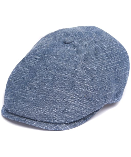 Men's Barbour Culloden Bakerboy Cap - Ink