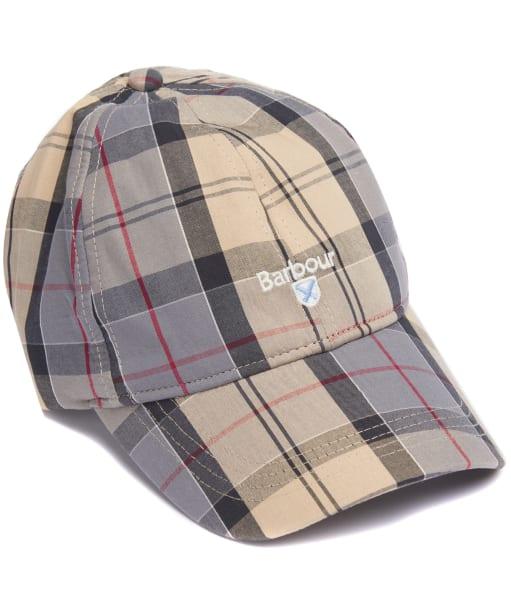 Men's Barbour Tartan Sports Cap - Dress Tartan