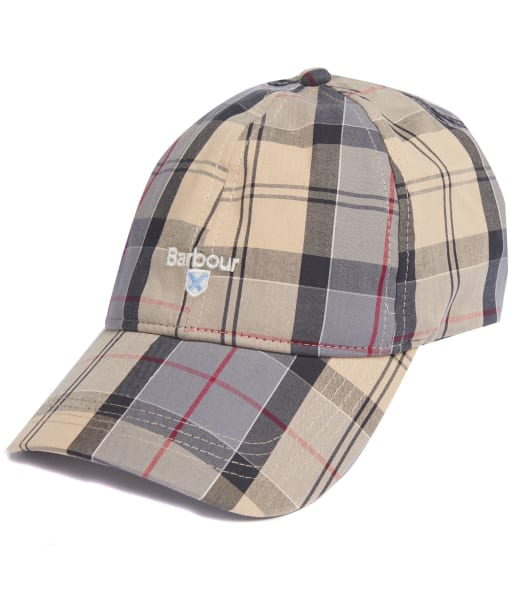 Men's Barbour Tartan Sports Cap - Dress Tartan