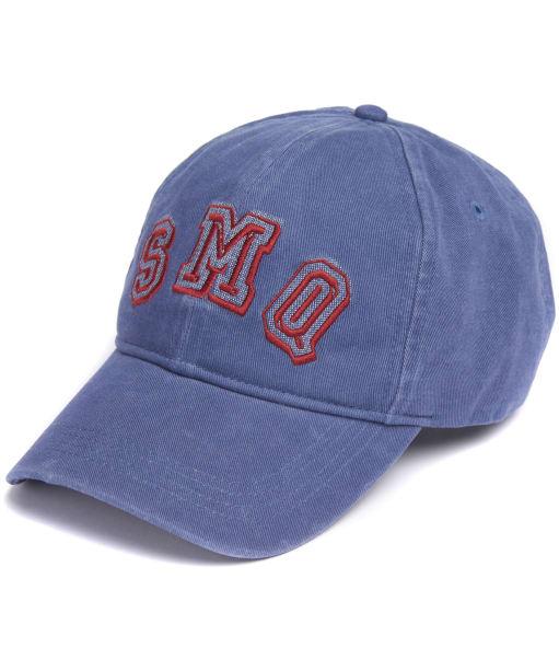 Men's Barbour International Steve McQueen Damper Sports Cap - Ensign Blue