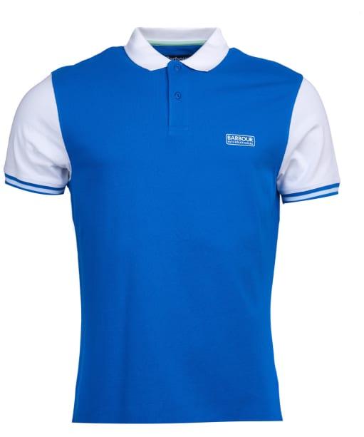 Men's Barbour International Volt Polo Shirt - Neela Blue