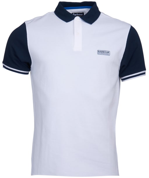 Men's Barbour International Volt Polo Shirt - White