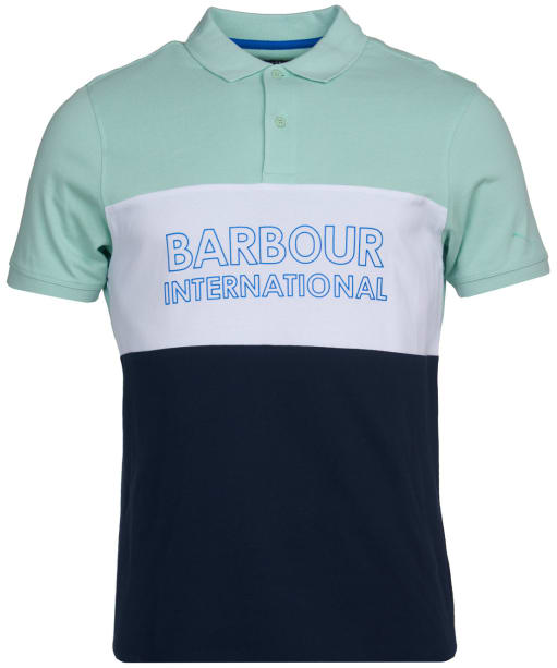 Men's Barbour International Bold Polo Shirt - Peppermint