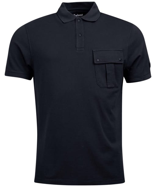 Men's Barbour International Hud Pocket Tee - WASHED BLACK