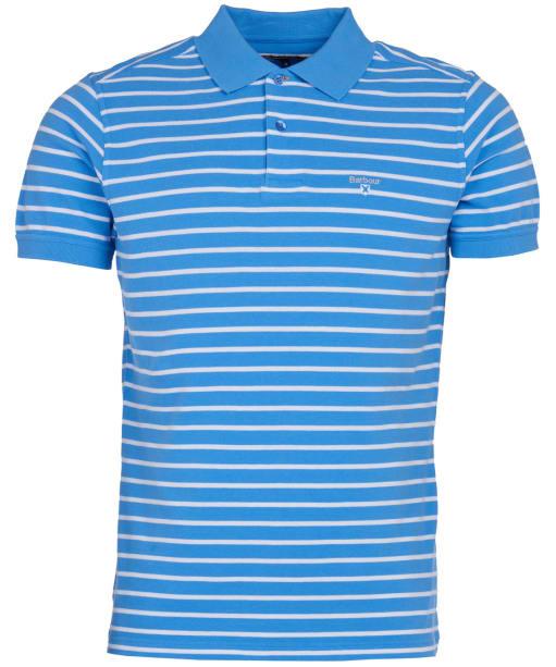 Men's Barbour Styhead Stripe Polo Shirt - Colorado Blue