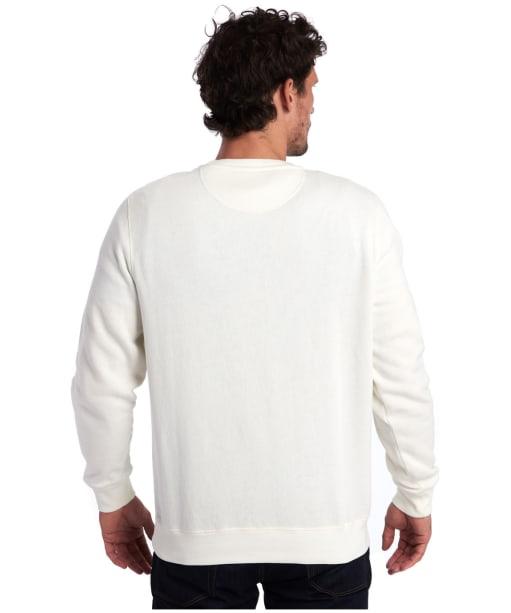 Men's Barbour Reed Crew Sweater - Ecru