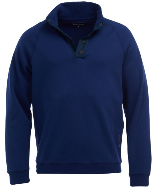 Men's Barbour Bay Half Zip Sweater - Regal Blue