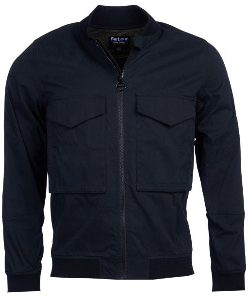 Men's Barbour International Turbo Zip Thru Jacket - Black