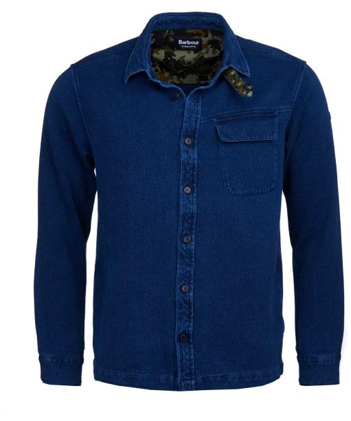 Men's Barbour International Camber Overshirt - Indigo
