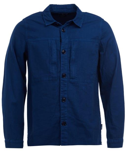 Men's Barbour Kilda Overshirt - Indigo
