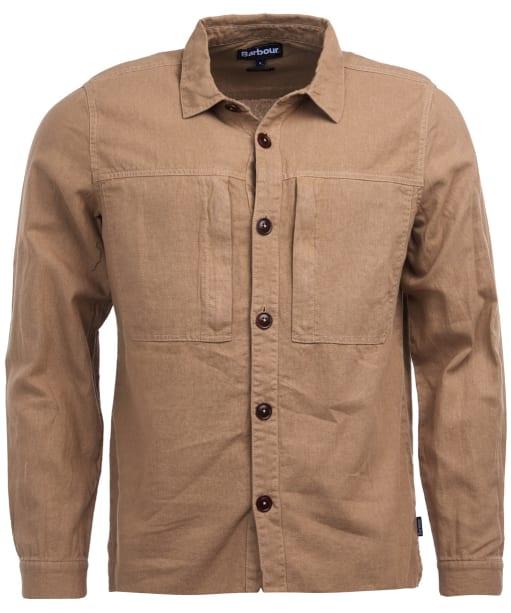 Men's Barbour Kilda Overshirt - Stone